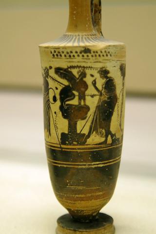 考古学博物館06オイデップス王とスフィンクスinシラクーサ