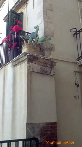 オルティージャ島アポロン神殿隣のおウチinシラクーサ