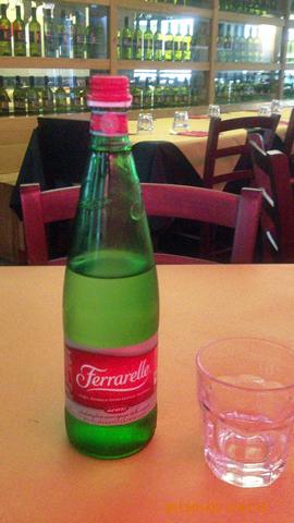 リストランテで昼食1inカターニア