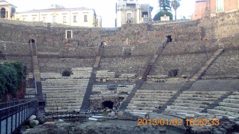 ローマ劇場inカターニア