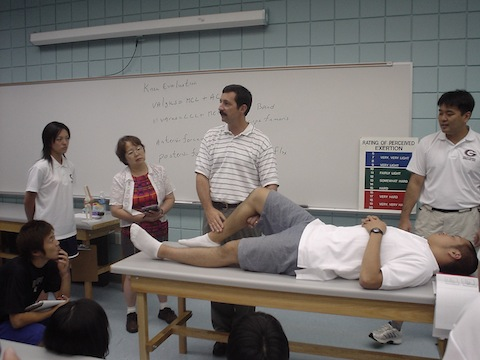 2004年8月 クレーマージャパンATワークショップinジョージア大学 065