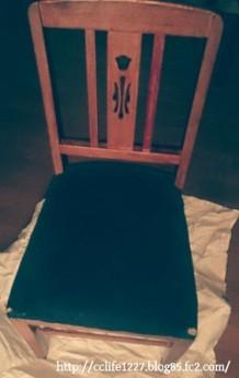 ぼろぼろの椅子