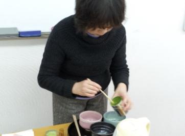 2013-01-20 抹茶ふるまい