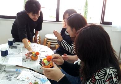 20121027 140349 フラワーアレンジ