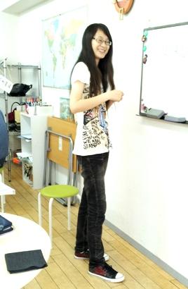 喫茶の様子 201210月 ぱおさん2