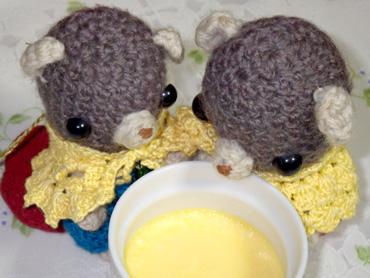 味噌ぷりん。