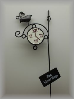 ガーデンピック時計