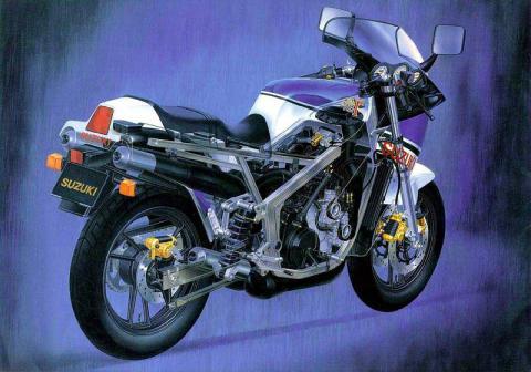 Suzuki RG500 4