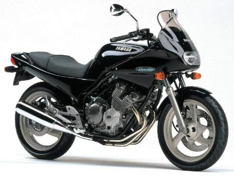 Yamaha XJ400S Diversion 91