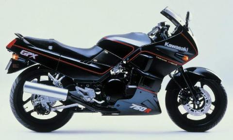 Kawasaki GPX750R 86