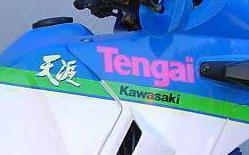 Kawasaki KLR650 Tengai 4-2