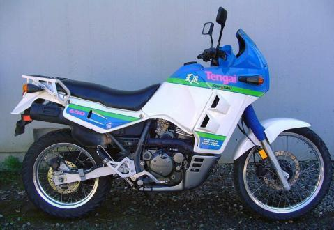 Kawasaki KLR650 Tengai 4
