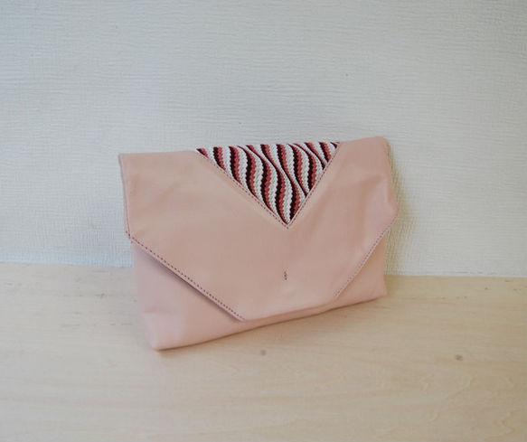 Bag in bag(数寄屋袋・薄紅色)