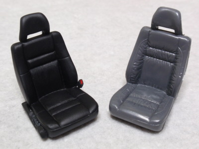 フロントシート仕上げ比較