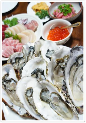 牡蠣大好きらしい