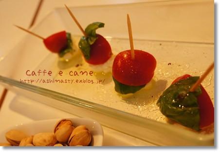 トマトのカプレーゼ
