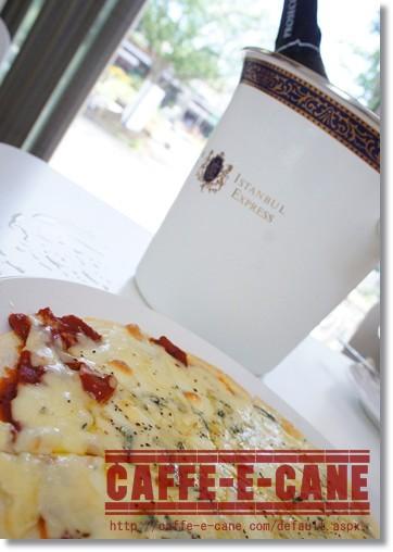 ゴルゴンゾーラのピザ