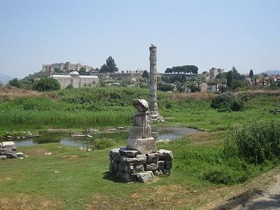 アルテミス神殿跡