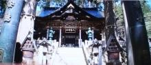 三峯神社の「拝殿」1
