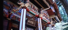 三峯神社の「拝殿」2