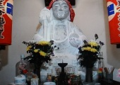 玉鳳寺のお化粧地蔵