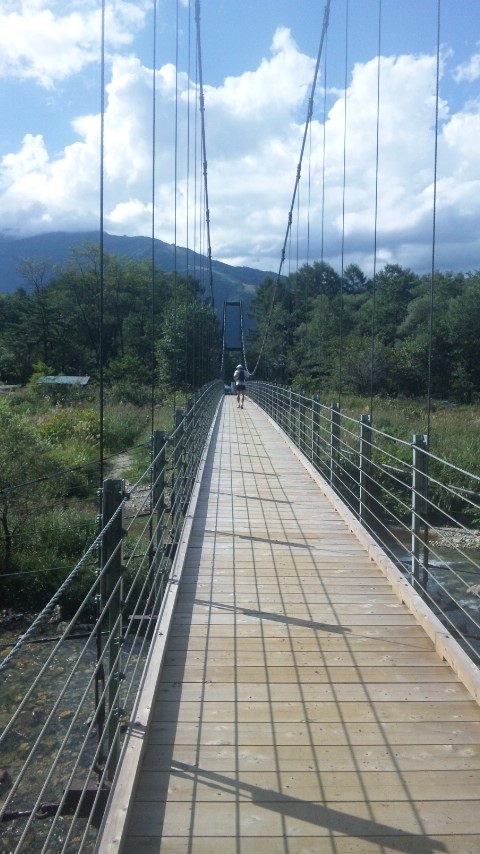 白馬つり橋
