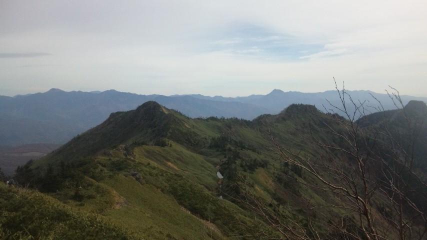ホタカ山頂3