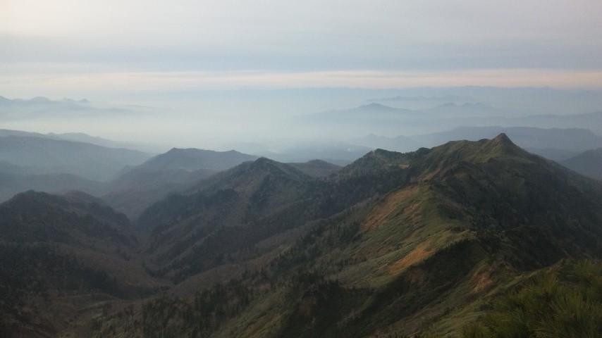 ホタカ山頂1