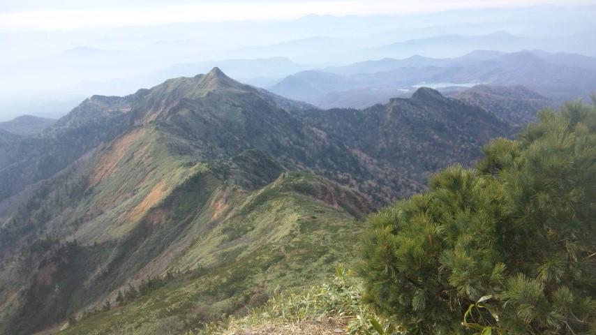 ホタカ山頂2