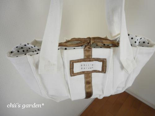 mini tuck tote bag-2