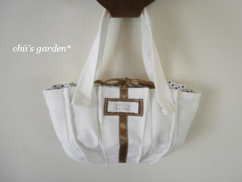 mini tuck tote bag-1