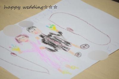 ひな絵 結婚式