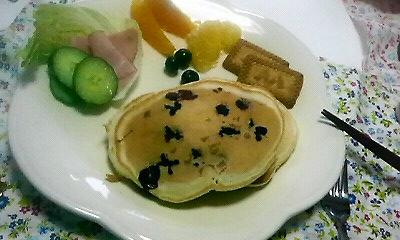 ブルーベリーパンケーキ2