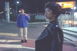 偶然、東京の町で見つかる奥井先生