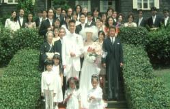 水上と由美の結婚式
