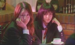 嘉郎を見ている美由紀と紗英