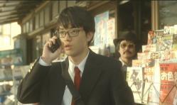 いえ・・(浅見紗英の電話に出ている嘉郎)