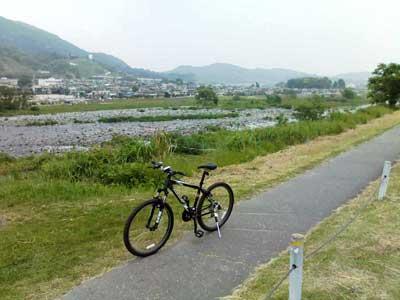 2008年5月18日酒匂川サイクリングロード初走行