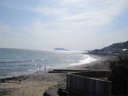 20100617稲村ケ崎からの江の島