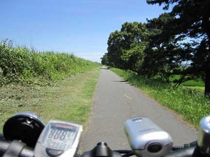 20100719酒匂サイクリングコース