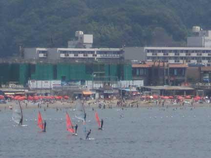 20100821bウインドサーフィン