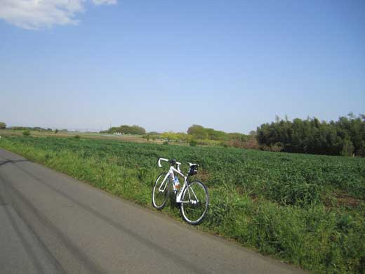 20110422畑とGIANT DEFY ADVANCED3