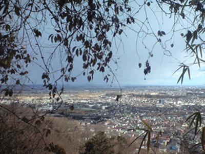 20110130山からの眺めは最高!