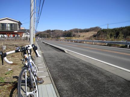 20110213気持ち良い青空と田舎風景