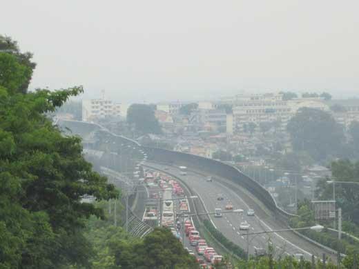 20110605東名夕方の渋滞