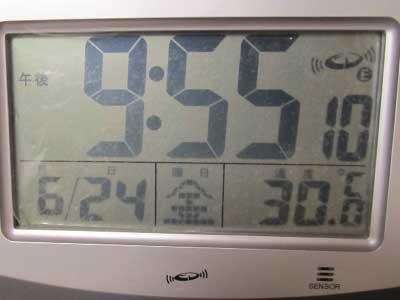 20110624夜の室温