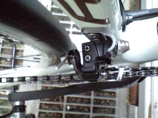 20110801DEFYフロントディレイラー調整試走1