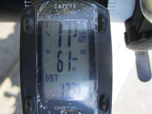 20110910 17.34km走ってAv17.3km/h(笑)