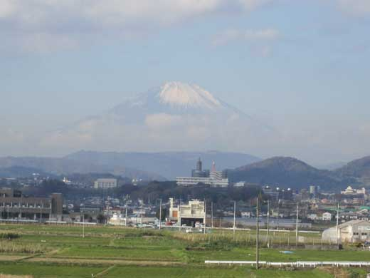 20111126今朝の富士山