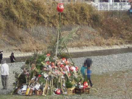 20120115どんど焼き